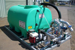 Winch on/Tilt off Water/Fire Skid